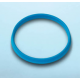 DURAN® YOUTILITY Pouring Ring GL45, Cyan Polypropylene, for DURAN® laboratory glass bottles with DIN thread