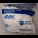 Vienkartinis respiratorius - kaukė FFP2-KN95 10vnt